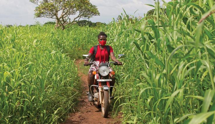 Leah Amongi Oeganda