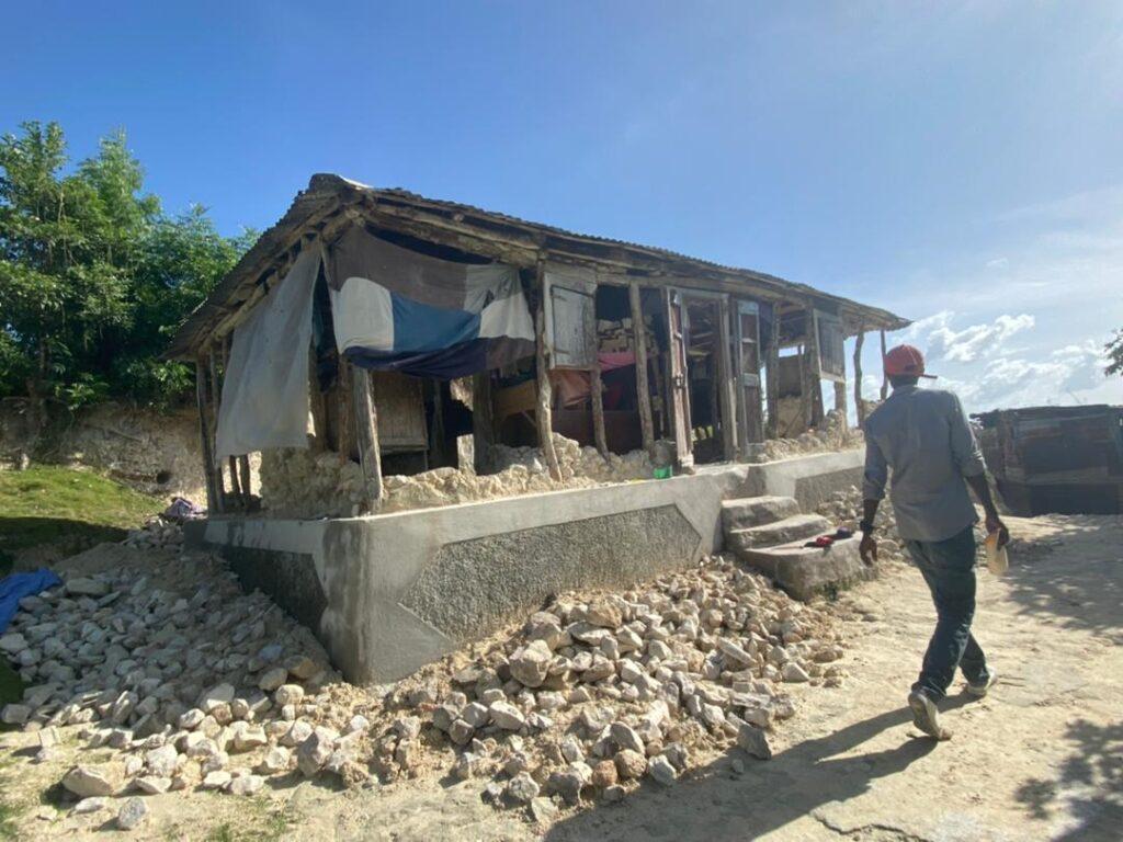 Aardbeving Haiti